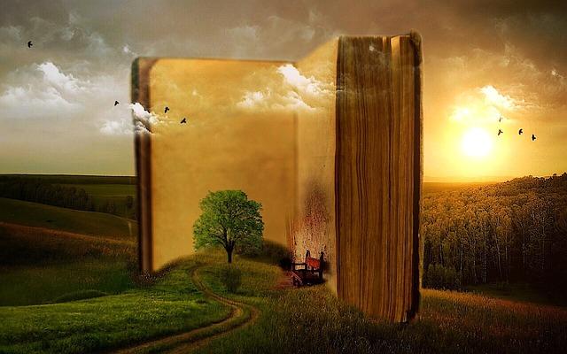 kniha s přírodou