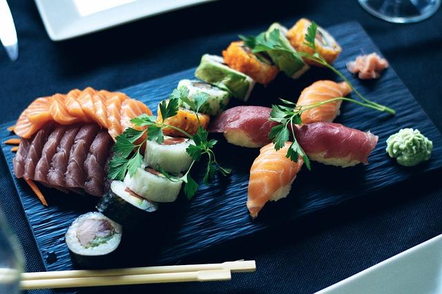 sushi a losos